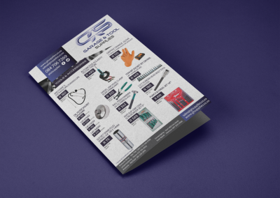 mockup-of-a-bifold-brochure-lying-on-a-solid-color-surface-a15202